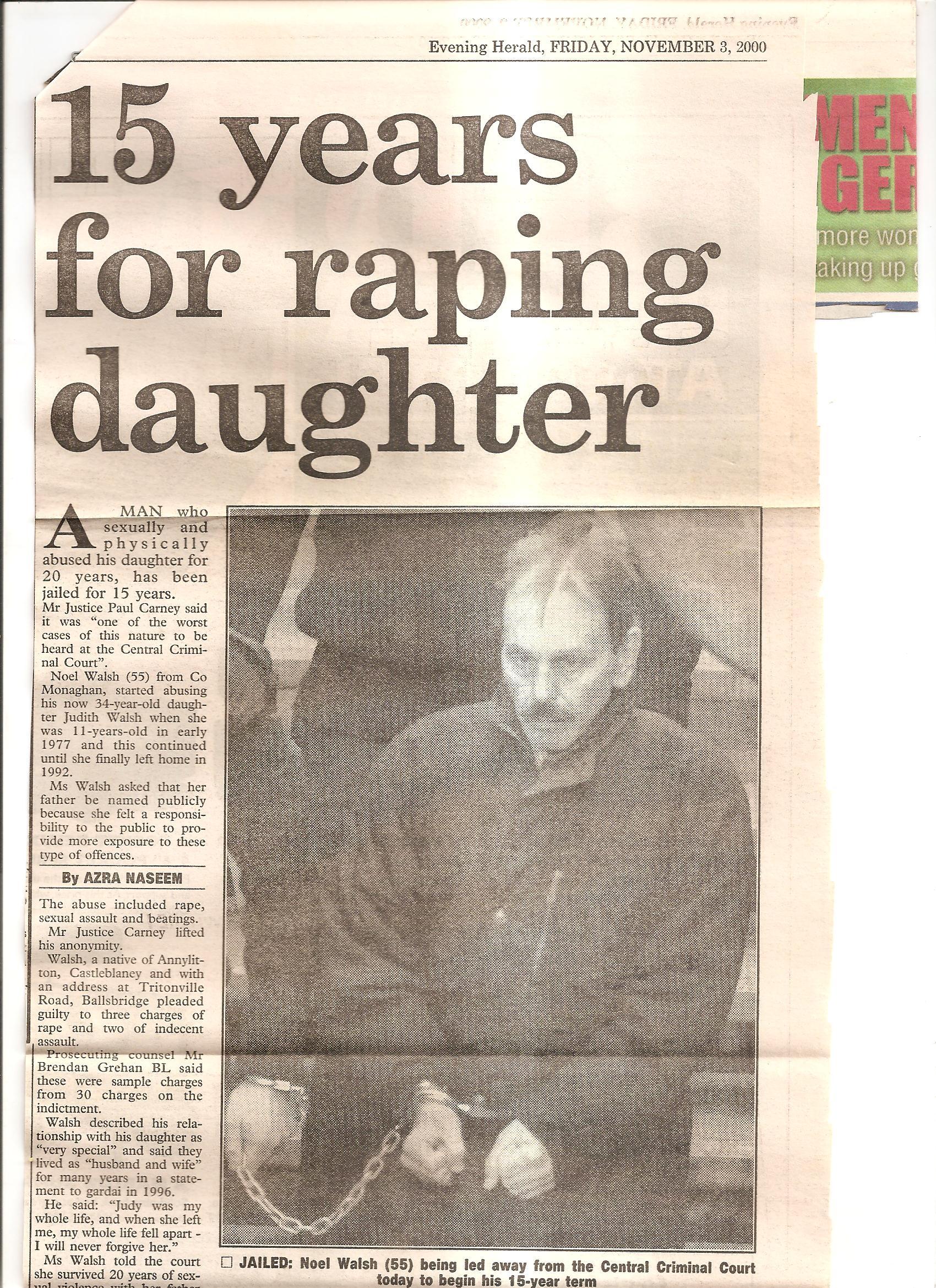 Evening Herald Nov00 page 1