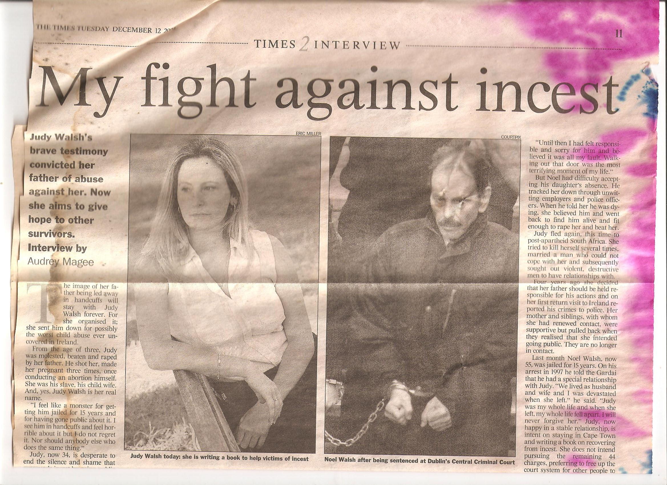 Irish Times Dec12 2000 page 1