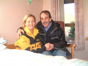 Saying Good-Bye to my Dad before he died three and a half years after he was sentenced to 15 years